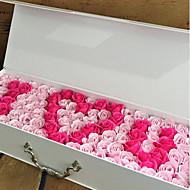 Χαμηλού Κόστους Ψεύτικα Λουλούδια-Ψεύτικα λουλούδια 1 Κλαδί Πάρτι / Απόγευμα / Γάμος Τριαντάφυλλα Λουλούδι για Τραπέζι