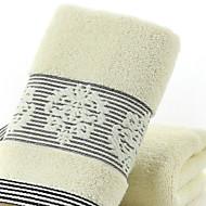 baratos Toalha de Banho-Qualidade superior Toalha de Banho, Simples / Geométrico Poliéster / Algodão Banheiro 1 pcs