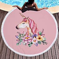 tanie Ręcznik plażowy-Najwyższa jakość Ręcznik plażowy, Wzorzec Bawełniano-poliestrowy 1 pcs