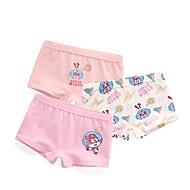 billige Undertøj og sokker til babyer-3stk Baby Pige Trykt mønster Undertøj og strømper