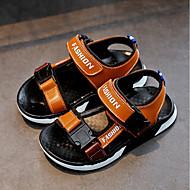 baratos Sapatos de Menino-Para Meninos Sapatos Couro Verão Conforto Sandálias para Branco / Preto / Amarelo