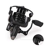 billiga Fiske-Fiskerullar Snurrande hjul 5.2:1 Växlingsförhållande+9 Kullager Hand Orientering utbytbar Sjöfiske / Kastfiske / Spinnfiske