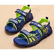 baratos Sapatos de Menino-Para Meninos Sapatos Couro Ecológico Verão Conforto Sandálias para Preto / Azul Escuro / Azul Real