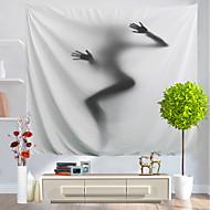 billige Veggdekor-Ferie Veggdekor polyester Klassisk Veggkunst, Veggtepper Dekorasjon