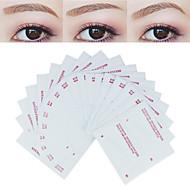 billiga Sminktillbehör-Makeup Set Ögonbrynsstencil professionell nivå / Bärbar Smink 24 pcs Öga / Ansikte Bärbar / Universell Bärbar Naturlig Kosmetisk Skötselprodukter