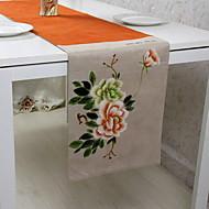 billige Løpere-Moderne PVC Kvadrat Bordløpere Blomstret Borddekorasjoner 1 pcs