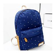 baratos Mochilas-Unisexo Bolsas Tela de pintura mochila Estampa Azul Escuro / Fúcsia / Azul Céu
