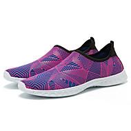 baratos Sapatos Masculinos-Homens Tecido Verão Conforto Tênis Corrida / Fitness / Água Prateado / Verde / Azul