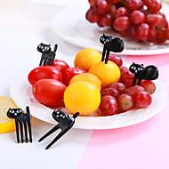 Utensílios de cozinha Plásticos Adorável / Criativo Garfos Fruta / Bolas de arroz 6pcs