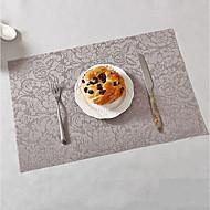 billige Bordduker-Moderne / Klassisk PVC Kvadrat Bordskånere Blomstret Borddekorasjoner 1 pcs