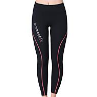 Dive&Sail Női Szörfruha nadrág 1,5 mm Elasztán Alsók Vízálló Melegen tartani Légáteresztő Úszás Búvárkodás Szörfözés Egyszínű / Gyors szárítás / Gyors szárítás / Ultraibolya biztos