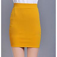 Žene Bodycon Ulični šik Suknje - Jednobojni