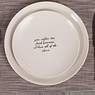 cheap Dinnerware-1 pc Porcelain Creative Dinner Plate, Dinnerware