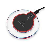 trådløs oplader usb oplader universel med kabel / trådløs oplader / qi understøttes ikke 2 a dc 5v for iphone x / xr / xs max / iphone 8 plus / samsung s9 s10