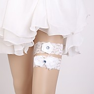Lace Classic Jewelry / Lace Wedding Garter With Floral Garters Wedding / Party & Evening