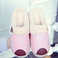 tanie Pantofle-Pantofle damskie Pantofle mokasyny Na co dzień PU Jeden kolor