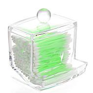 billige Bestselgere-Plast Rektangulær Nytt Design Hjem Organisasjon, 1pc Oppbevaringskasser / Makeup Oppbevaring / Skrivebordsorganiserere