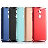 billiga Mobil cases & Skärmskydd-fodral Till Xiaomi Redmi 5 Plus / Redmi 5 Frostat Skal Enfärgad Hårt PC för Redmi Note 5A / Xiaomi Redmi Note 4X / Xiaomi Redmi 5 Plus