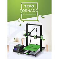 ieftine -tevo® tornado diy kit de imprimare 3d 300 * 300 * 400mm dimensiune mare de imprimare 1,75mm 0,4mm suport duză off-line imprimare - 110v
