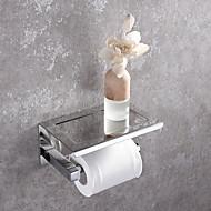 Χαμηλού Κόστους Βάσεις για Χαρτί Υγείας-Βάση για χαρτί τουαλέτας Νεό Σχέδιο Μοντέρνα Ανοξείδωτο Ατσάλι 1pc - Μπάνιο Επιτοίχιες