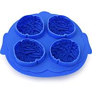 baratos Moldes para Bolos-Ferramentas bakeware silica Gel Gadget de Cozinha Criativa Gelo / Para utensílios de cozinha Stamper & Scraper 1pç