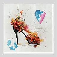 baratos Pinturas a Óleo-Pintura a Óleo Pintados à mão - Famoso Modern Tela de pintura