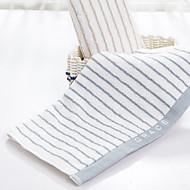 preiswerte Handtücher und Bademäntel-Frischer Stil Waschtuch, Gestreift Gehobene Qualität 100% Baumwolle 100% Baumwolle 1pcs