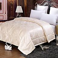 billige Quilt-tæpper og sengetæpper-Komfortabel - 1stk dyne Forår & Vinter Polyester Ensfarvet