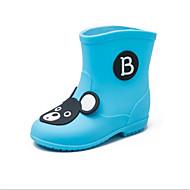 baratos Sapatos de Menina-Para Meninas Sapatos Courino Primavera Verão Botas de Chuva Botas para Amarelo / Azul / Rosa claro