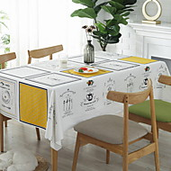 abordables Linge de table-Moderne Coton Carré Nappes de table Géométrique Décorations de table 1 pcs