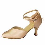 billige Moderne sko-Dame Moderne sko Silke Høye hæler Stiletthæl Dansesko Mandel / Ytelse / Trening