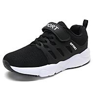 baratos Sapatos de Menino-Para Meninos Sapatos Tule Primavera & Outono Conforto Tênis Corrida para Branco / Preto / Azul Escuro