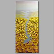 voordelige -Hang-geschilderd olieverfschilderij Handgeschilderde - Abstract Landschap Hedendaags Modern Kangas
