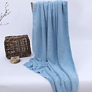 baratos Toalha de Banho-Qualidade superior Toalha de Banho, Sólido Combinação Poliéster / Algodão Sala de Estar 1 pcs