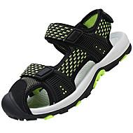 baratos Sapatos de Menino-Para Meninos Sapatos Malha Respirável / Couro Ecológico Verão Conforto Sandálias Presilha para Azul Escuro / Cinzento / Preto / verde
