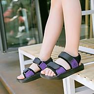 baratos Sapatos de Menino-Para Meninos Sapatos Pele Verão Conforto Sandálias para Branco / Roxo / Vermelho
