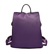 billige Skoletasker-Dame Tasker Oxfordtøj / Nylon rygsæk Lag for udendørs / Skole Lilla / Rosa / Vin
