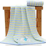 baratos Toalha de Banho-Qualidade superior Toalha de Banho / Toalha de Lavar, Listrado Poliéster / Algodão / 100% algodão 1 pcs