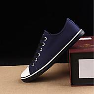 Hombre Tela Primavera & Otoño Confort Zapatillas de deporte Negro / Azul / Wine