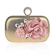 billige Designer Evening Bags-Dame Poser Klede / polyester Aftenveske Blomst Lilla / Fuksia / Marineblå