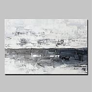 billiga Abstrakta målningar-Hang målad oljemålning HANDMÅLAD - Abstrakt Popkonst Vintage Traditionell Duk