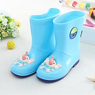 baratos Sapatos de Menina-Para Meninas Sapatos PVC Verão Botas de Chuva Botas Estampa Animal para Amarelo / Vermelho / Azul