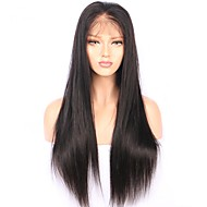 Remy hår Blonde Front Paryk Brasiliansk hår Lige Paryk 130% Med Baby Hair / Natural Hairline / Afro-amerikansk paryk Dame Kort / Lang / Mellemlængde Blondeparykker af menneskehår