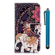 billiga Mobil cases & Skärmskydd-fodral Till Xiaomi Redmi 5 Plus / Redmi 5 Plånbok / Korthållare / med stativ Fodral Elefant Hårt PU läder för Redmi Note 5A / Xiaomi