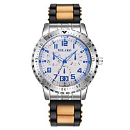 billige Sportsur-Herre Sportsur Kinesisk Kronograf / Kreativ Silikone Bånd Mode Sort