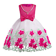 Toddler Girls' Basic Solid Colored Sleeveless Dress Blue