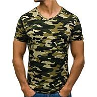 Majica s rukavima Muškarci Dnevno kamuflaža Print