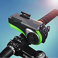 billige Sykkellykter og reflekser-Telefon Holder / Frontlys til sykkel / Sykkellys med horn Sykkellykter Sykling Vannavvisende Usb Sykling