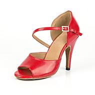 billige Sko til latindans-Dame Sko til latindans Syntetisk Joggesko MiniSpot Slim High Heel Dansesko Rød