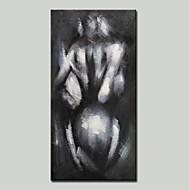 billiga Människomålningar-mintura® handmålade abstrakta nakna flicka oljemålning på kanfas modern väggkonst bild för heminredning redo att hänga
